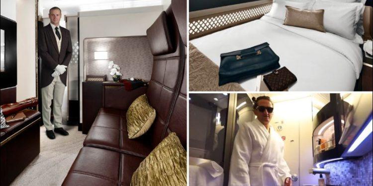 Suita luksoze brenda avionit, 52 mijë euro bileta