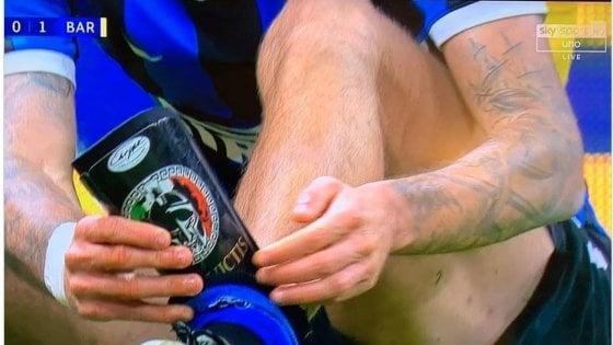 """Simbole fashiste në fushë, rrjeti """"masakron"""" lojtarin e Interit"""
