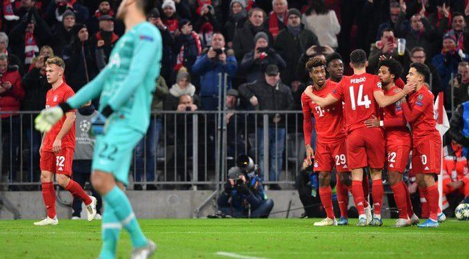 Bayerni trefishon ndaj Tottenham, super gol i Coutinhos (VIDEO)