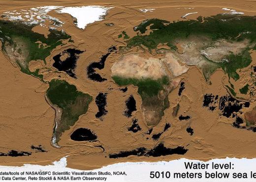 Si do të transformohet Toka me tharjen e oqeaneve