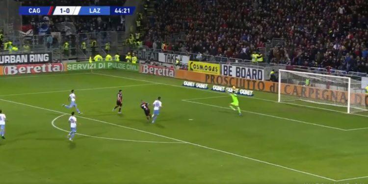 Strakosha mban në lojë Lazion, pritje spektakolare ndaj Nainggolan (VIDEO)