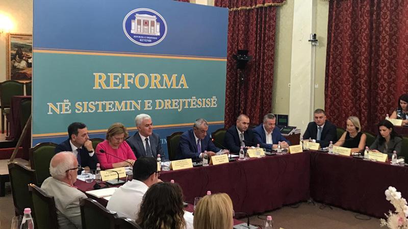 Hetim ndërkombëtar për reformën në drejtësi