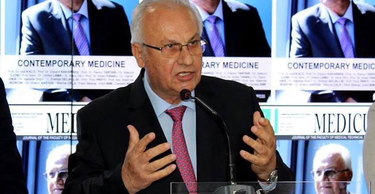 Prof  Dr  Isuf Kalo  Ndjesë dhe falënderim ndaj infermiereve tona të vyera