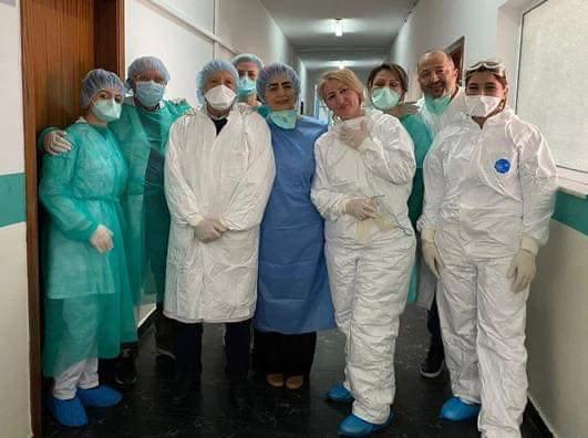 Manastirliu  Shërohen 5 mjeke dhe infermierë të prekur nga COVID 19
