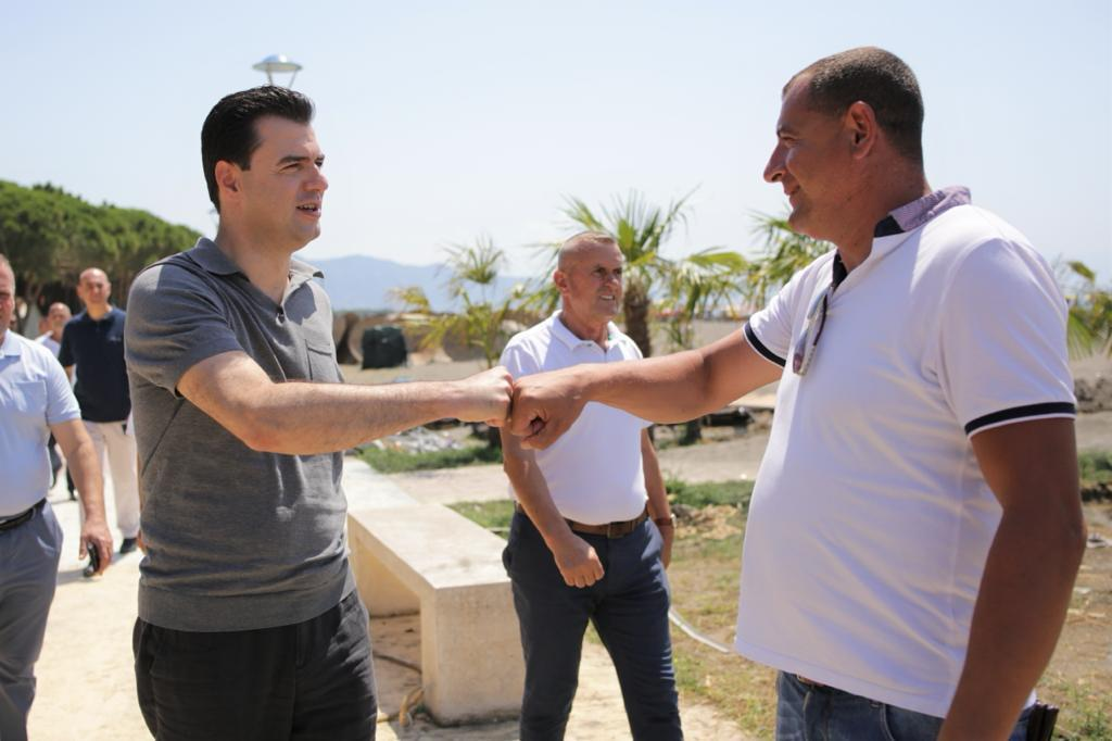 Basha në Velipojë: Qeveria jonë do të luftojë krimin, do ulë taksat dhe anulojë koncesionet