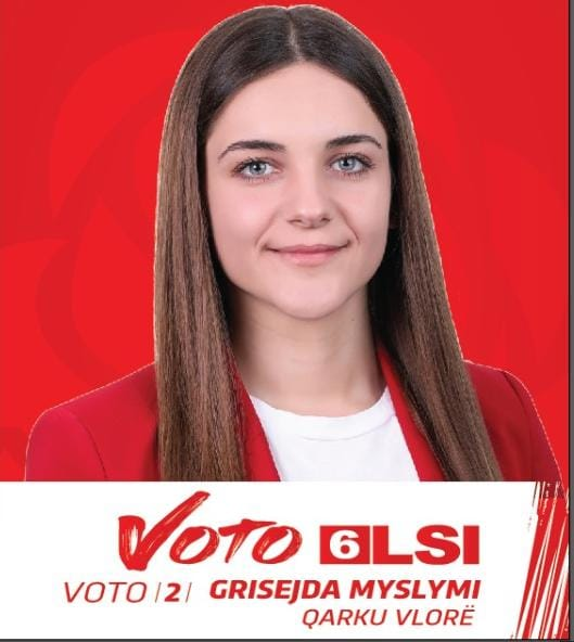 Grisejda Myslimi, kandidatja e LSI që fitoi zemrat e vlonjatëve dhe po thyen Rilindjen në Vlorë
