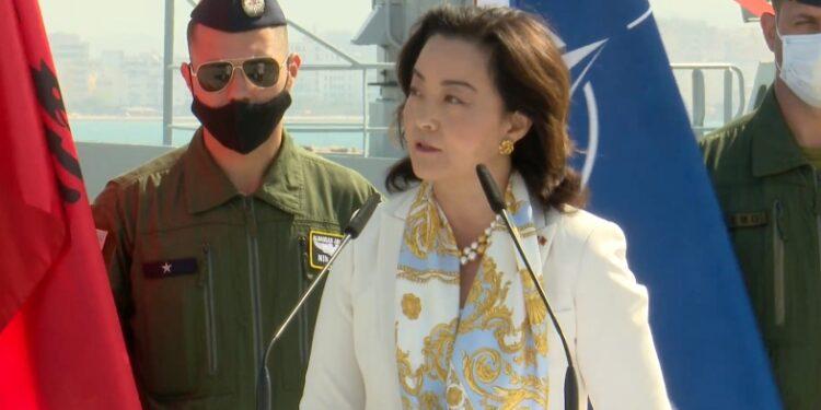 """Ambasadorja Yuri Kim: """"Defender Europë 21″, stërvitje historike! Është fillimi i gjërave edhe më të mëdha që do vijnë"""